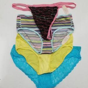 NWT Victoria's Secret Panty/Underwear Lot of 4
